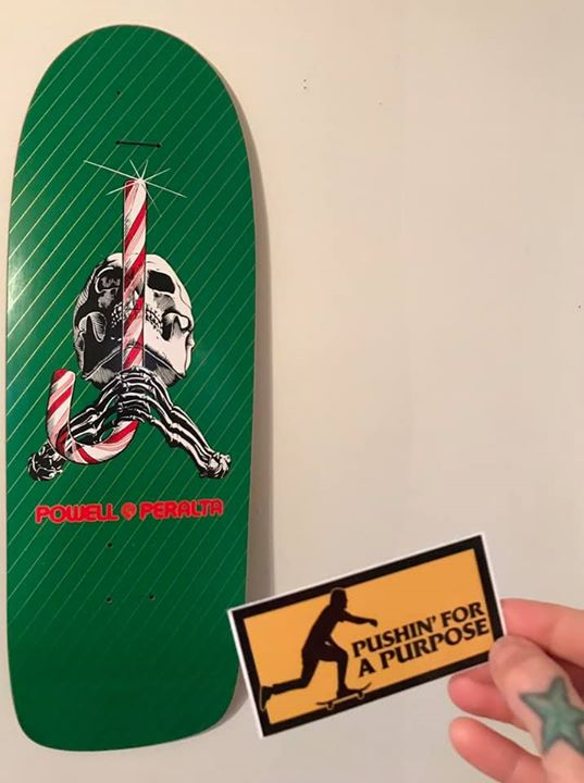 Merry Christmas and Happy Holidays from Pushin' for a Purpose! #thankyouskateboarding