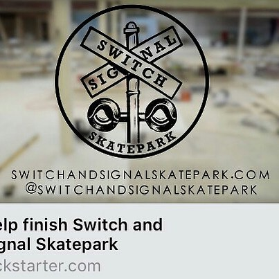 Go check out our friends @switchandsignalskatepark and help support their new park! Help them…