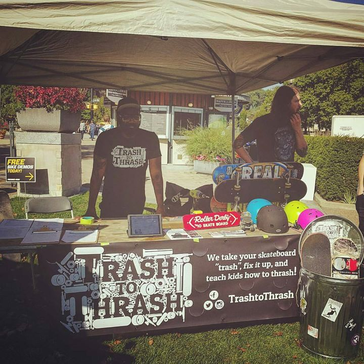 If you're in the area today stop out and see our friends @trashtothrash at…