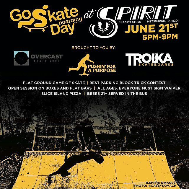 Come out and skate this Wednesday for Go Skateboarding day! Gonna be a good…